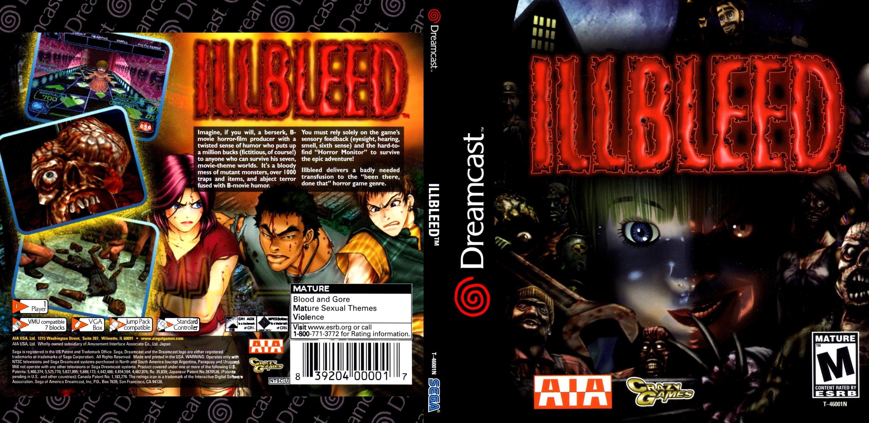 Illbleed (AIA) [NTSC-U]