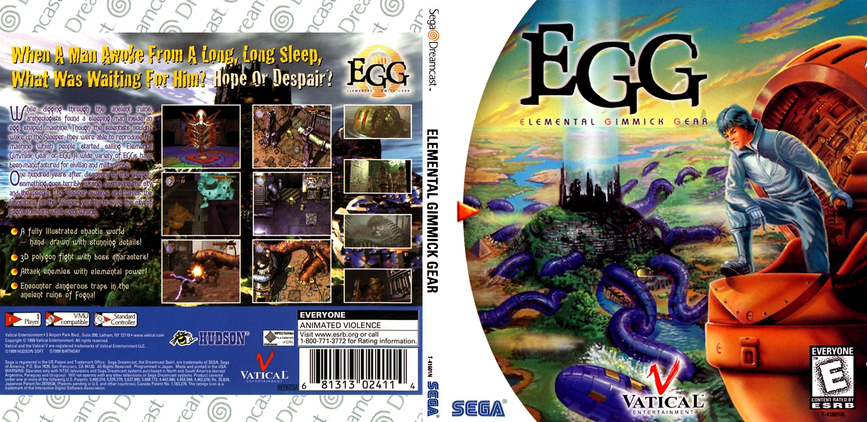 EGG - Elemental Gimmick Gear (Vatical Entertainment) [NTSC-U]