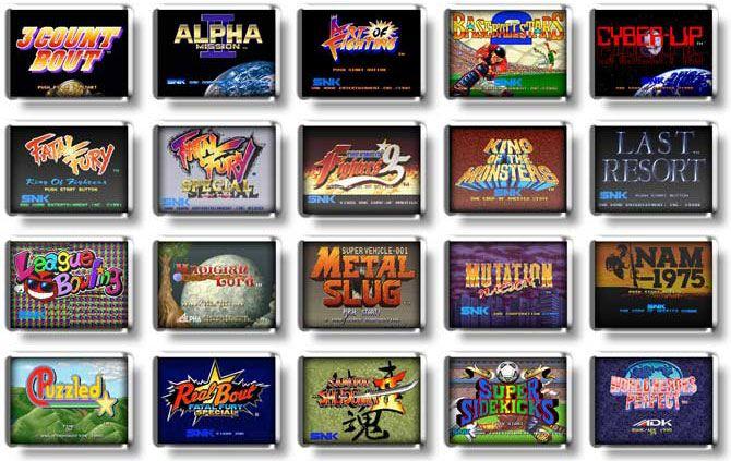 NeoGeo-X-game-list